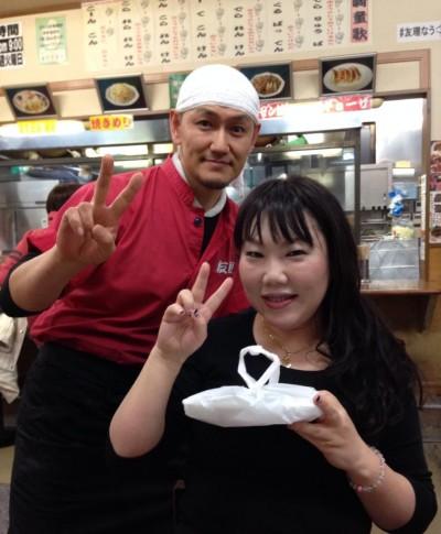 昨日はTomokoさんと初めてのツーショット!