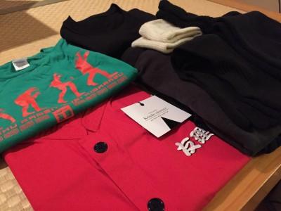 新しいユニフォーム、新しい靴下、新しいシャツ。そして、仕込みは友理Tシャツグリーンで気合い。