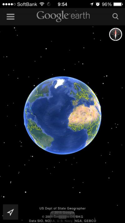 地球規模(笑)