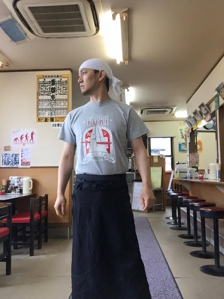 公開しました!友理Tシャツ2015 ご注文受付スタート!