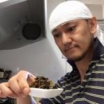 納豆と友理特製 高菜を混ぜて食べてみた!
