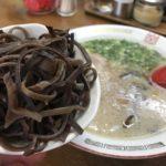 きくらげとスープでラーメンっぽく食べよう!